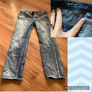 NWOT girls Gap jeans with shimmer